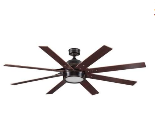 Turn of the Century Grand Haven 62 inches LED Ceiling Fan